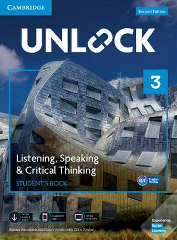 Unlock level 3 Listening And Speaking