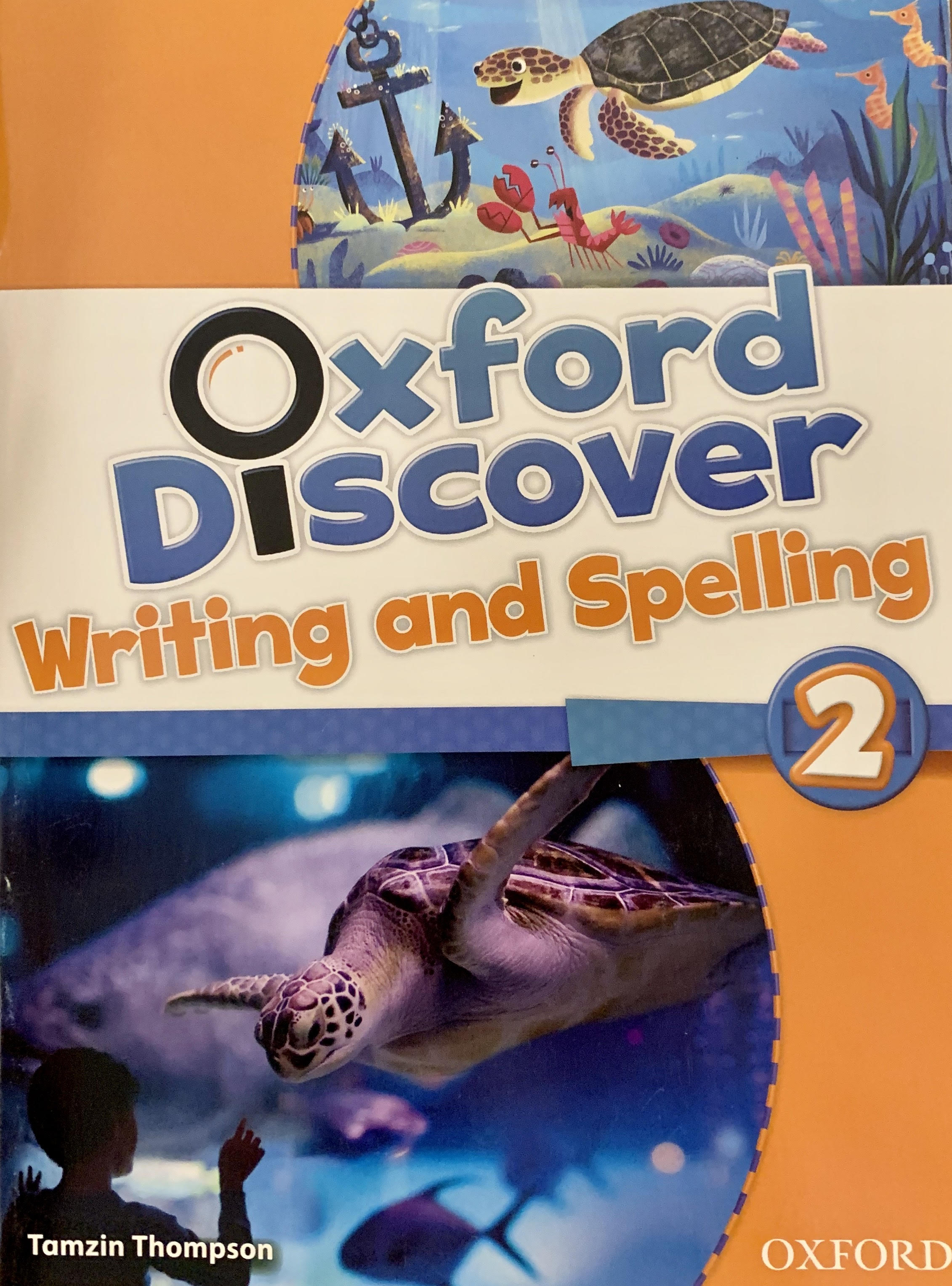 Oxford Discover Writing and Spelling 2