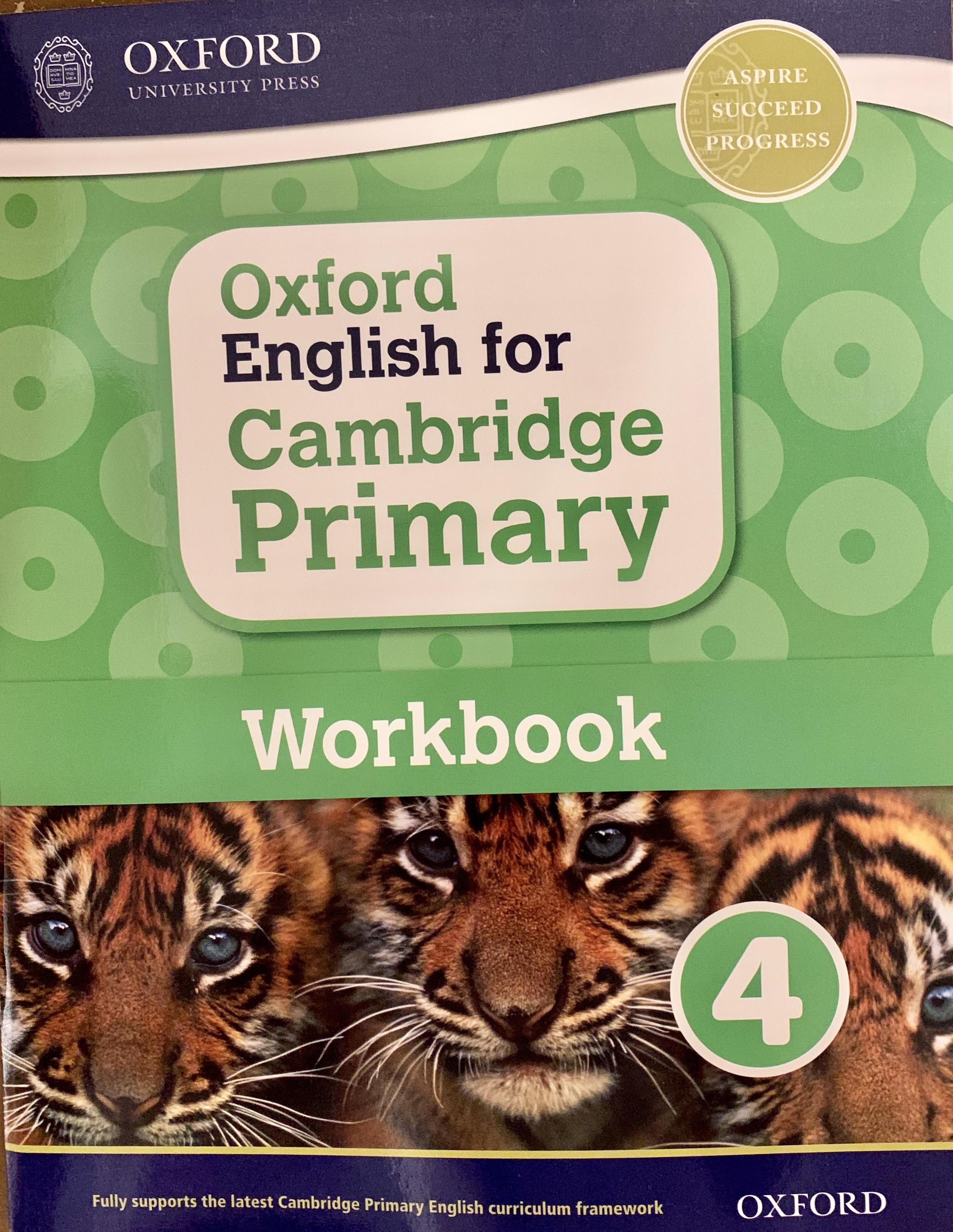 Oxford English for Cambridge Primary Work 4
