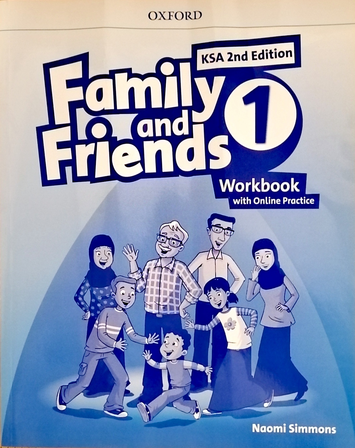 Family and Friends level1 workBook (eBook)