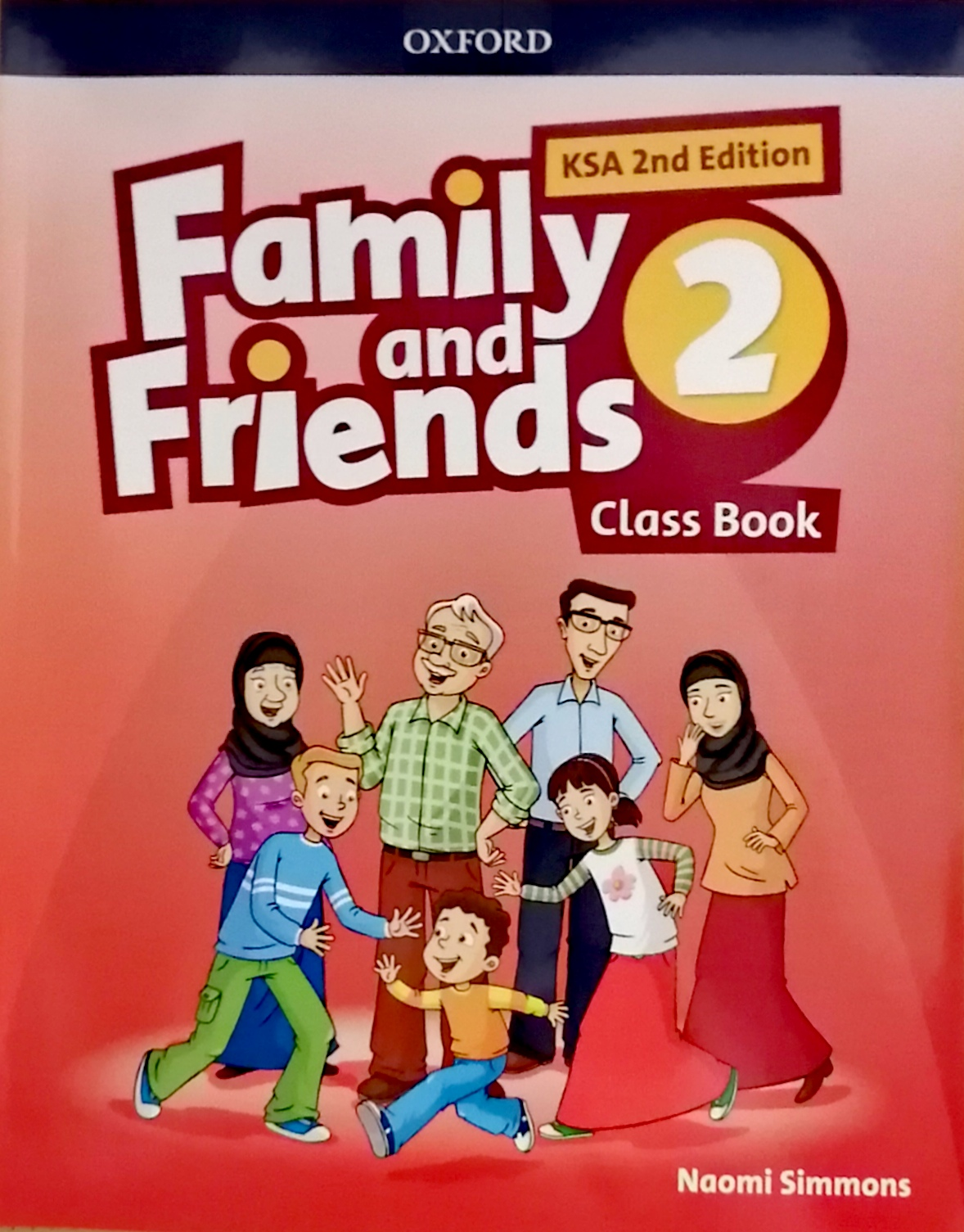 Family and Friends level2 Class Book (eBook)