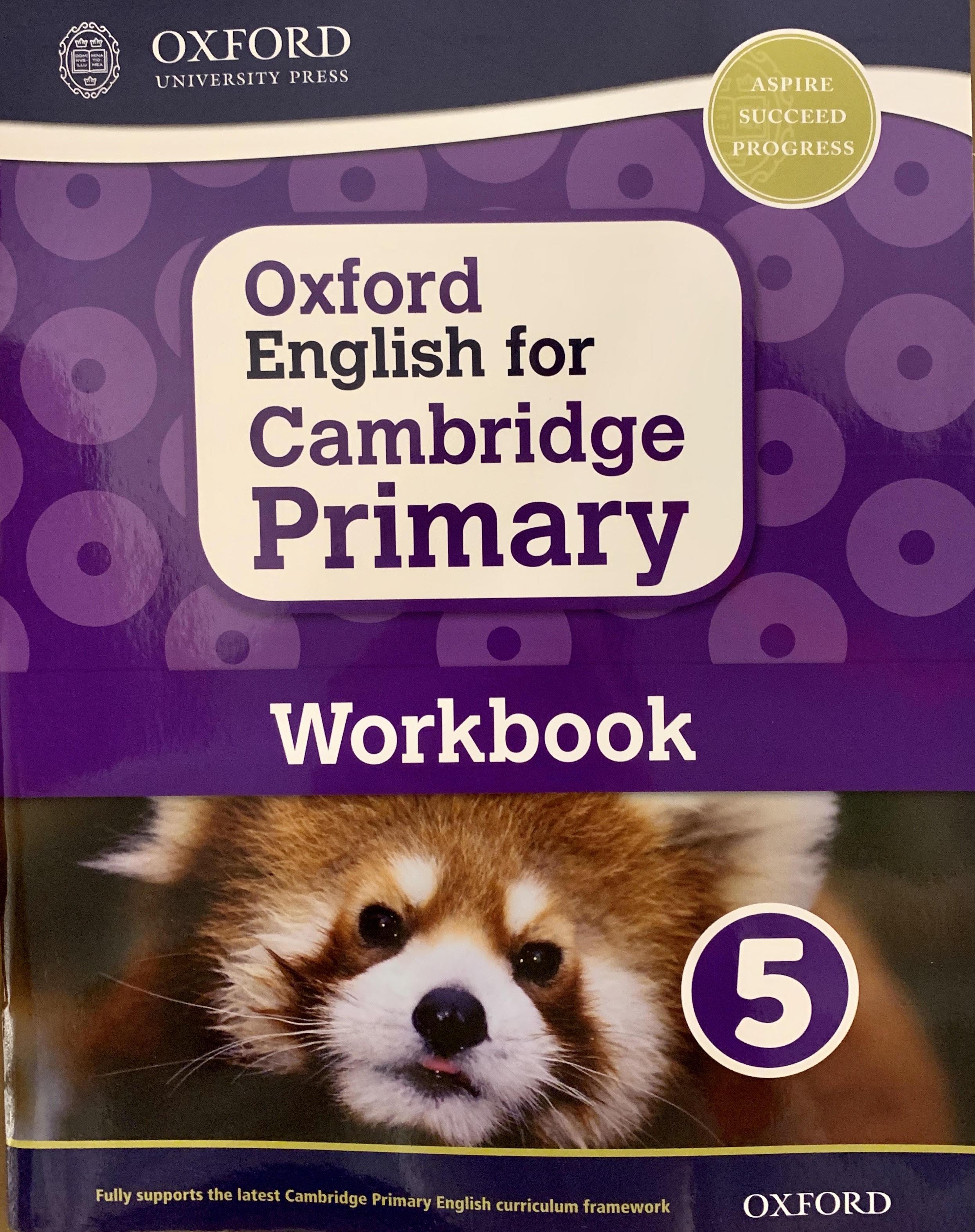 Oxford English for Cambridge Primary Work 5