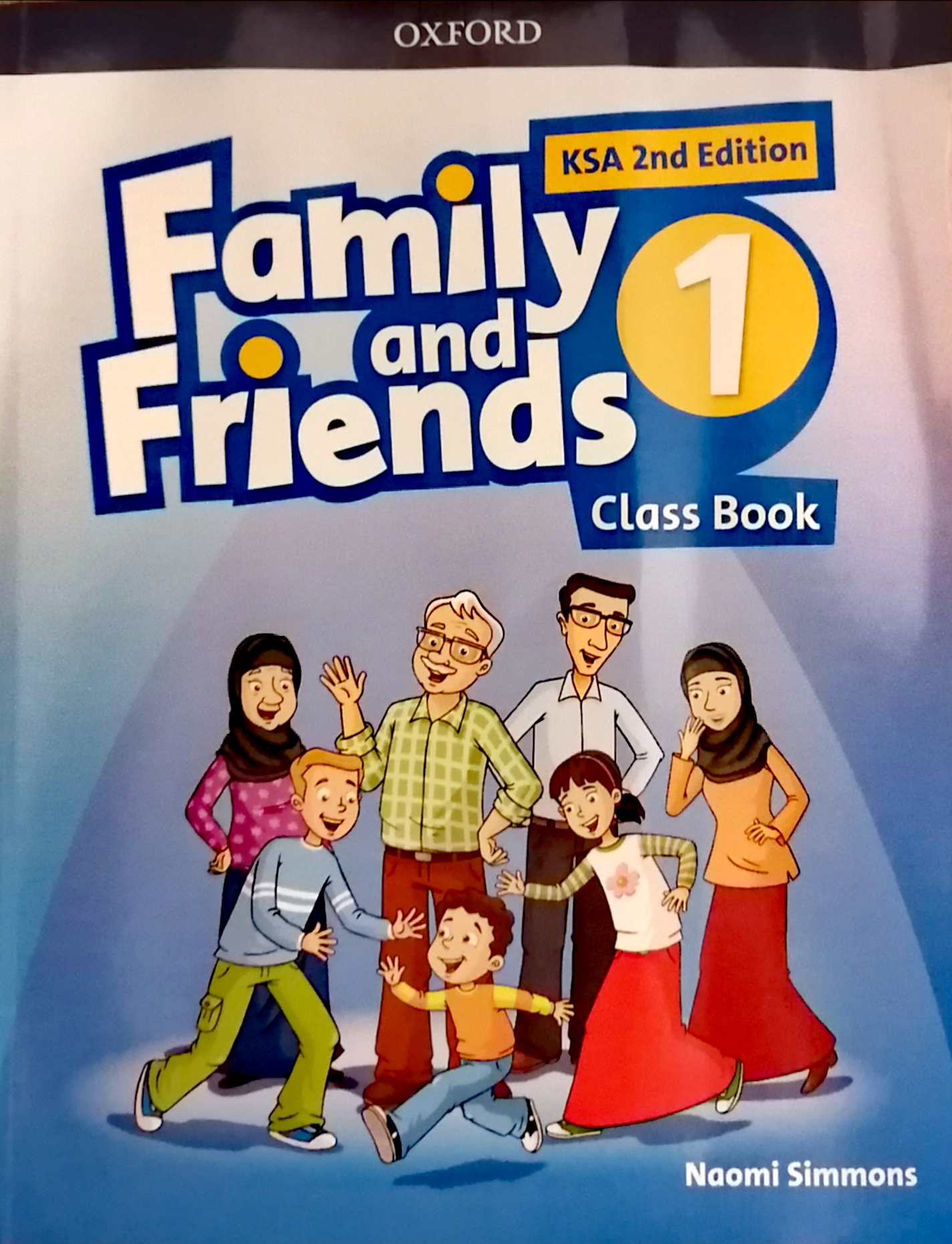 Family and Friends  level1 Class Book (eBook)