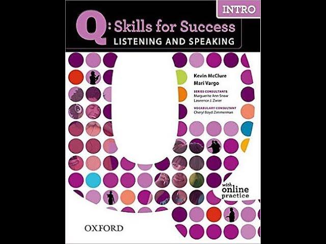 q skills Listening and Speaking intro