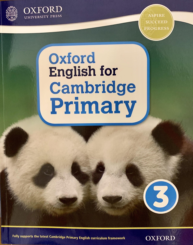 Oxford English for Cambridge Primary 3