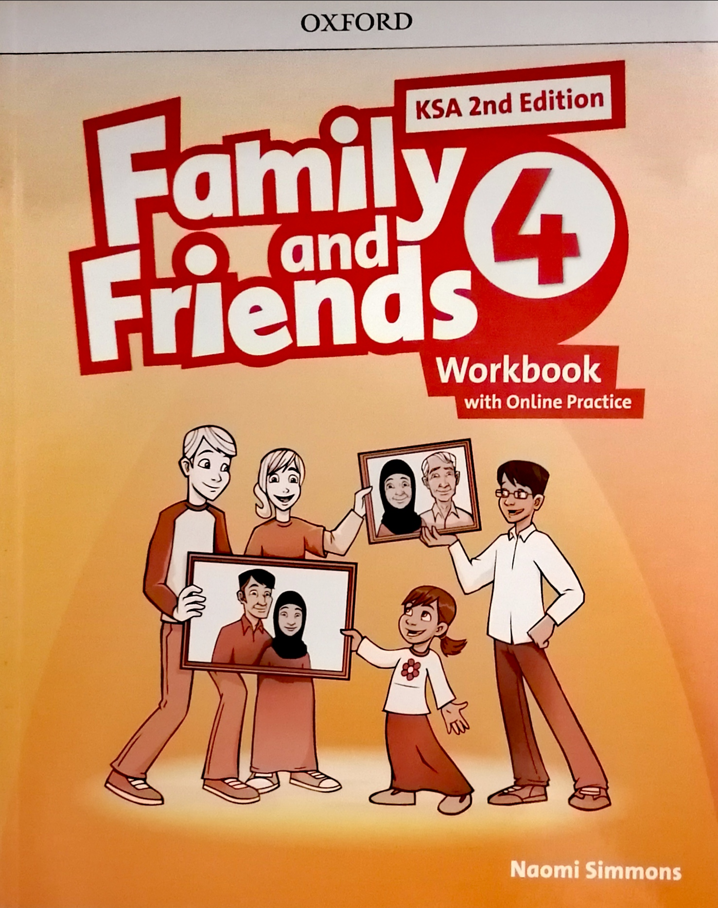 Family and Friends level4 workBook (eBook)