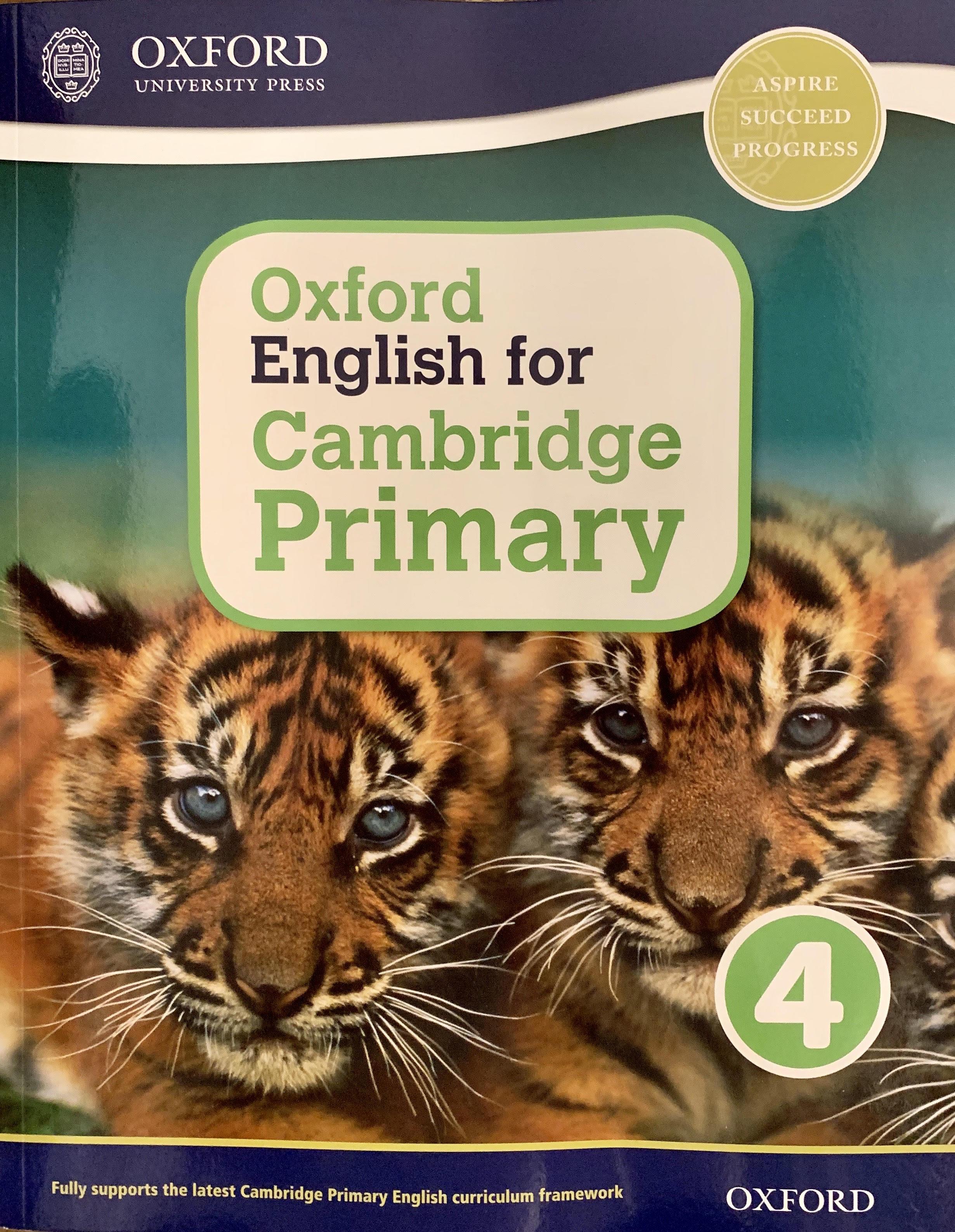 Oxford English for Cambridge Primary 4