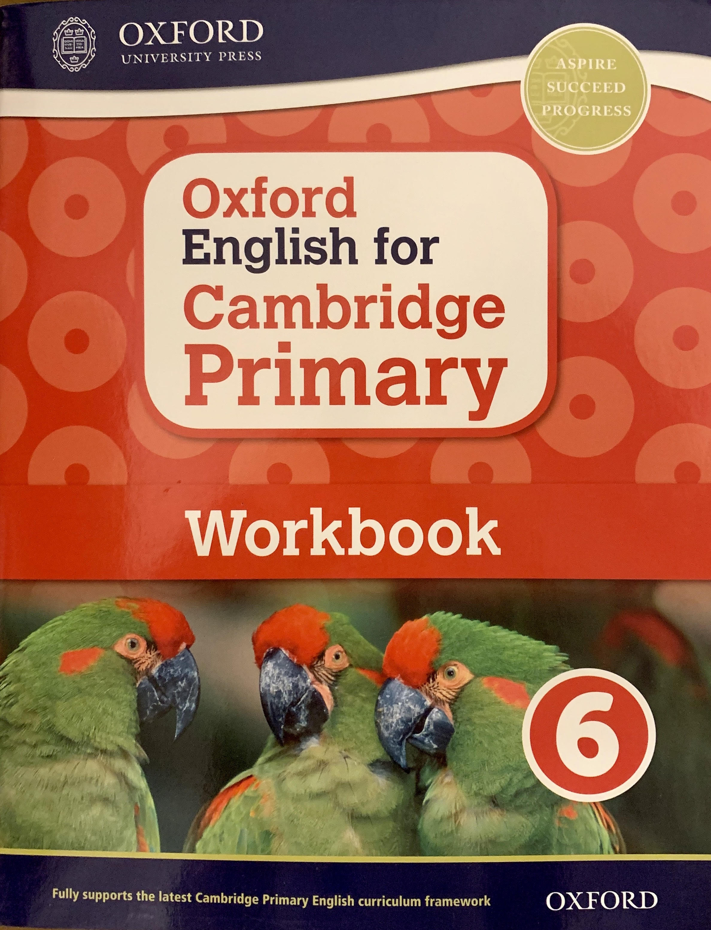 Oxford English for Cambridge Primary Work 6