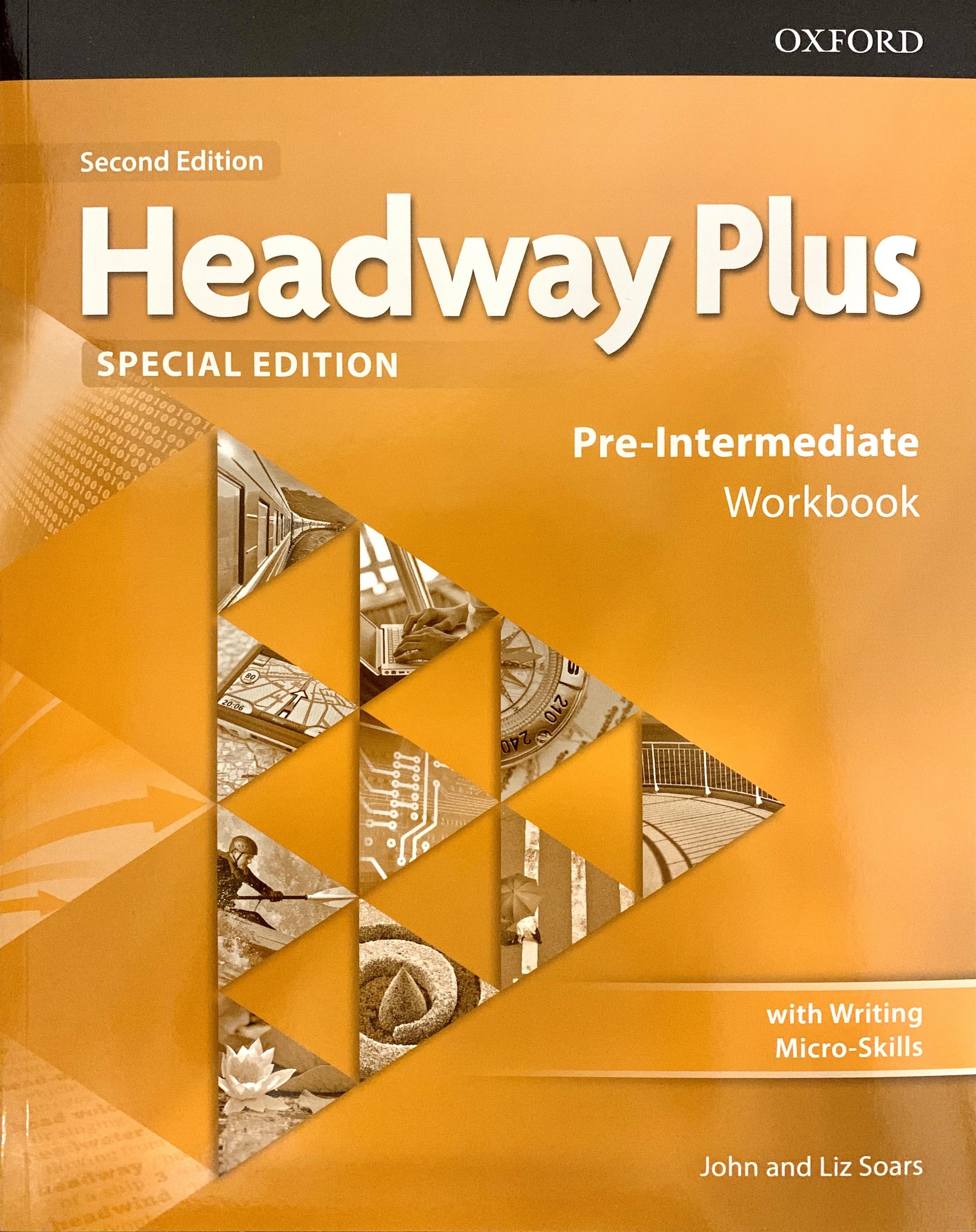 Headway Plus pre-Intermadiate Work ( Second Edition )