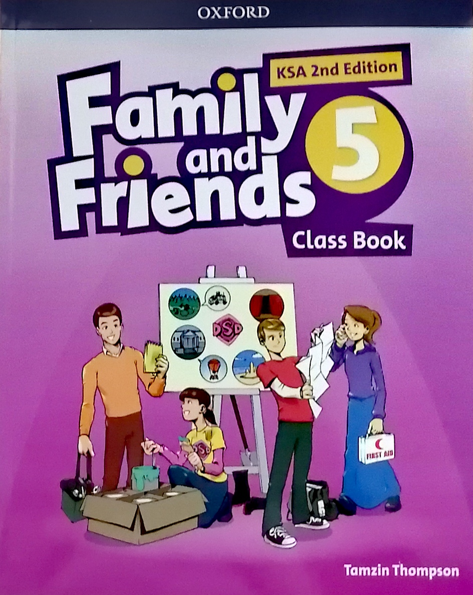 Family and Friends level5 Class Book (eBook)