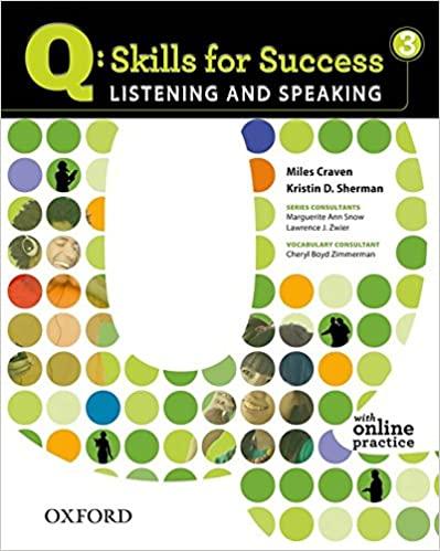 q skills Listening and Speaking 3