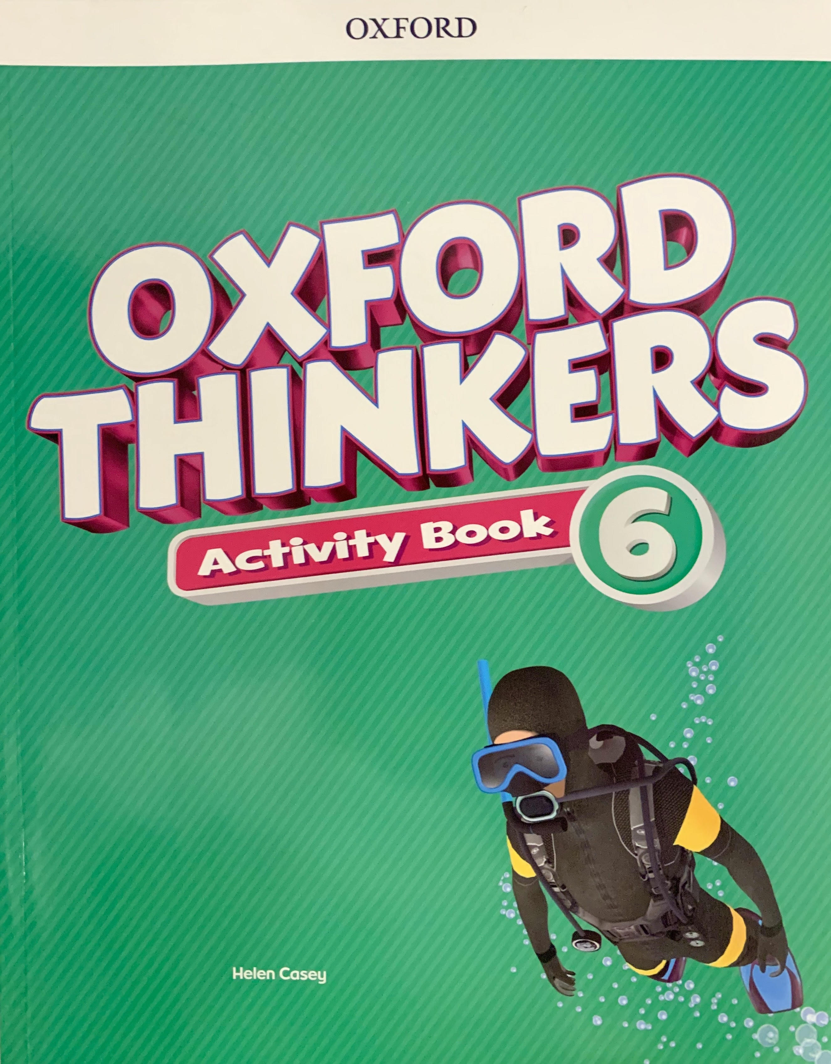 Oxford Thinkers Activity 6
