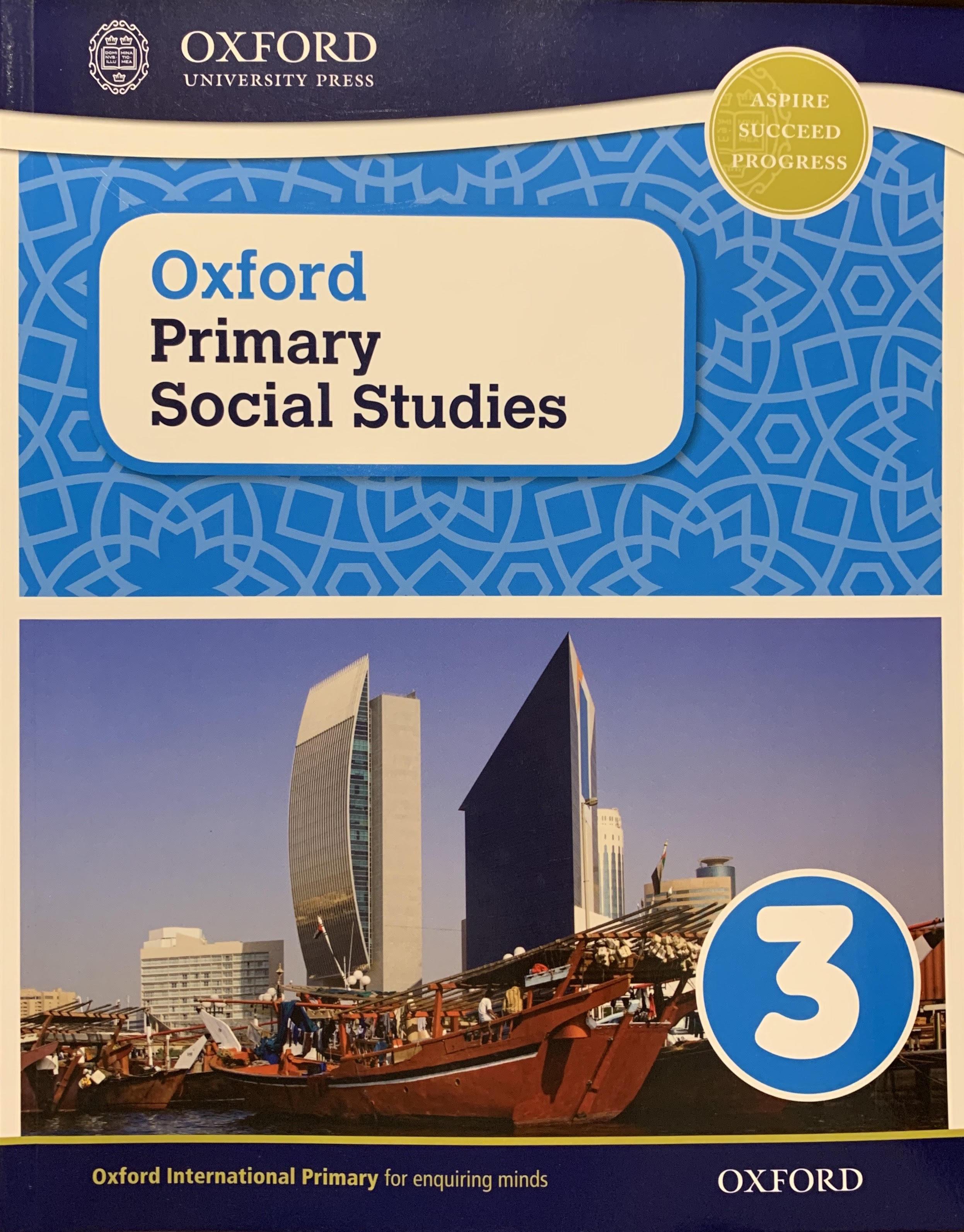 Oxford Primary Social Studies 3