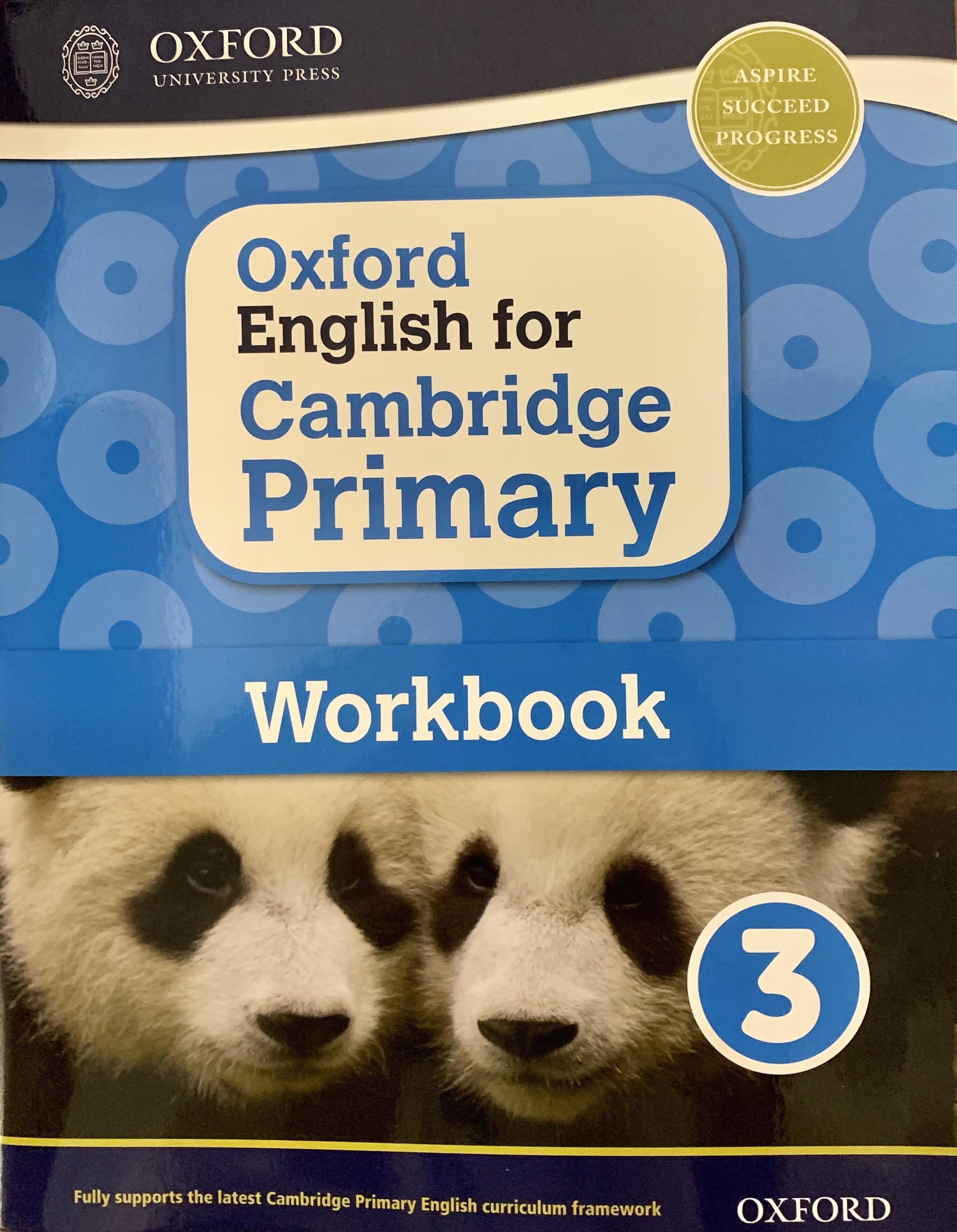 Oxford English for Cambridge Primary Work 3