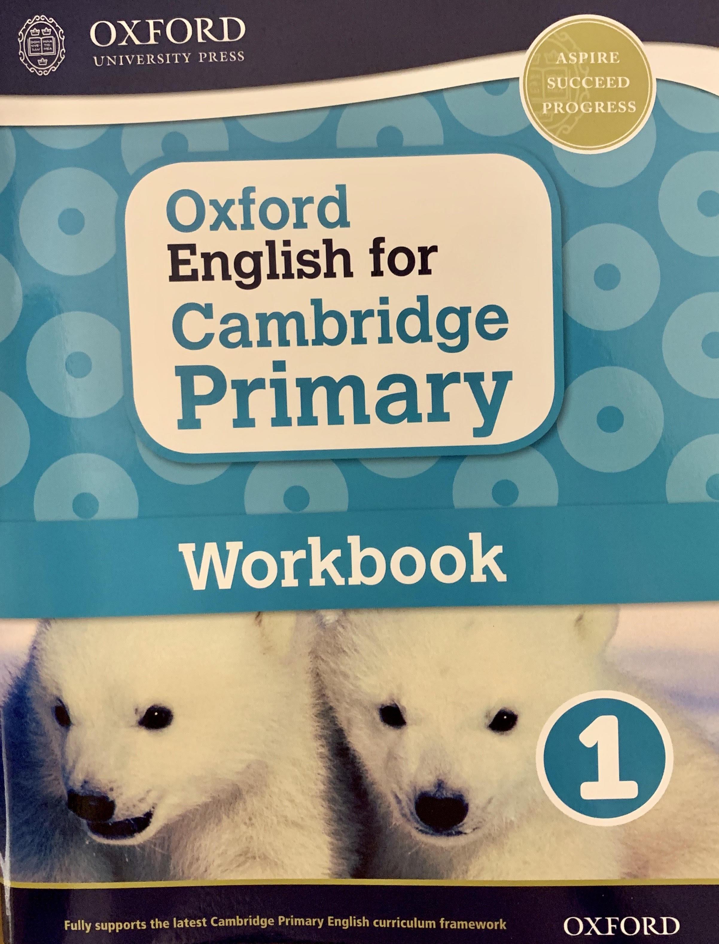 Oxford English for Cambridge Primary Work 1