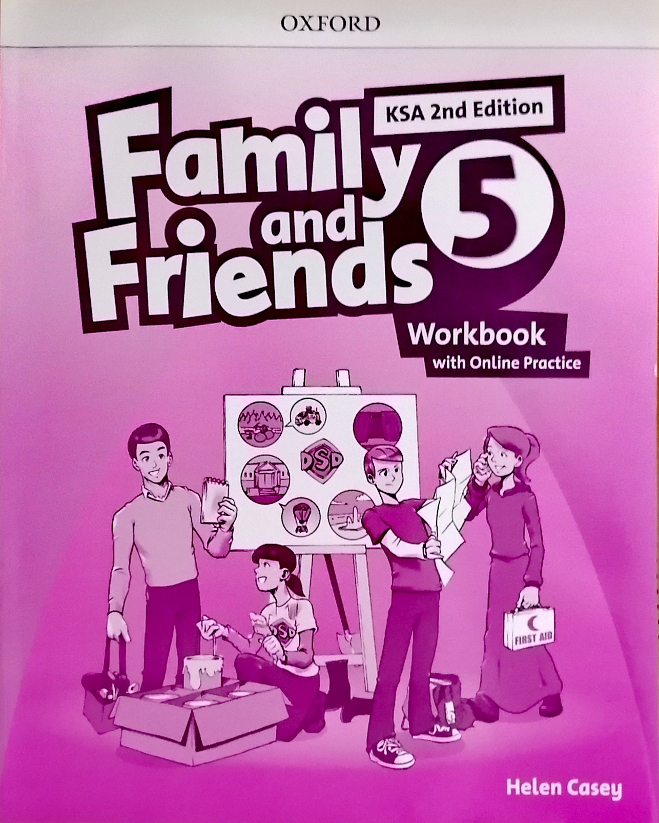 Family and Friends level5 workBook (eBook)