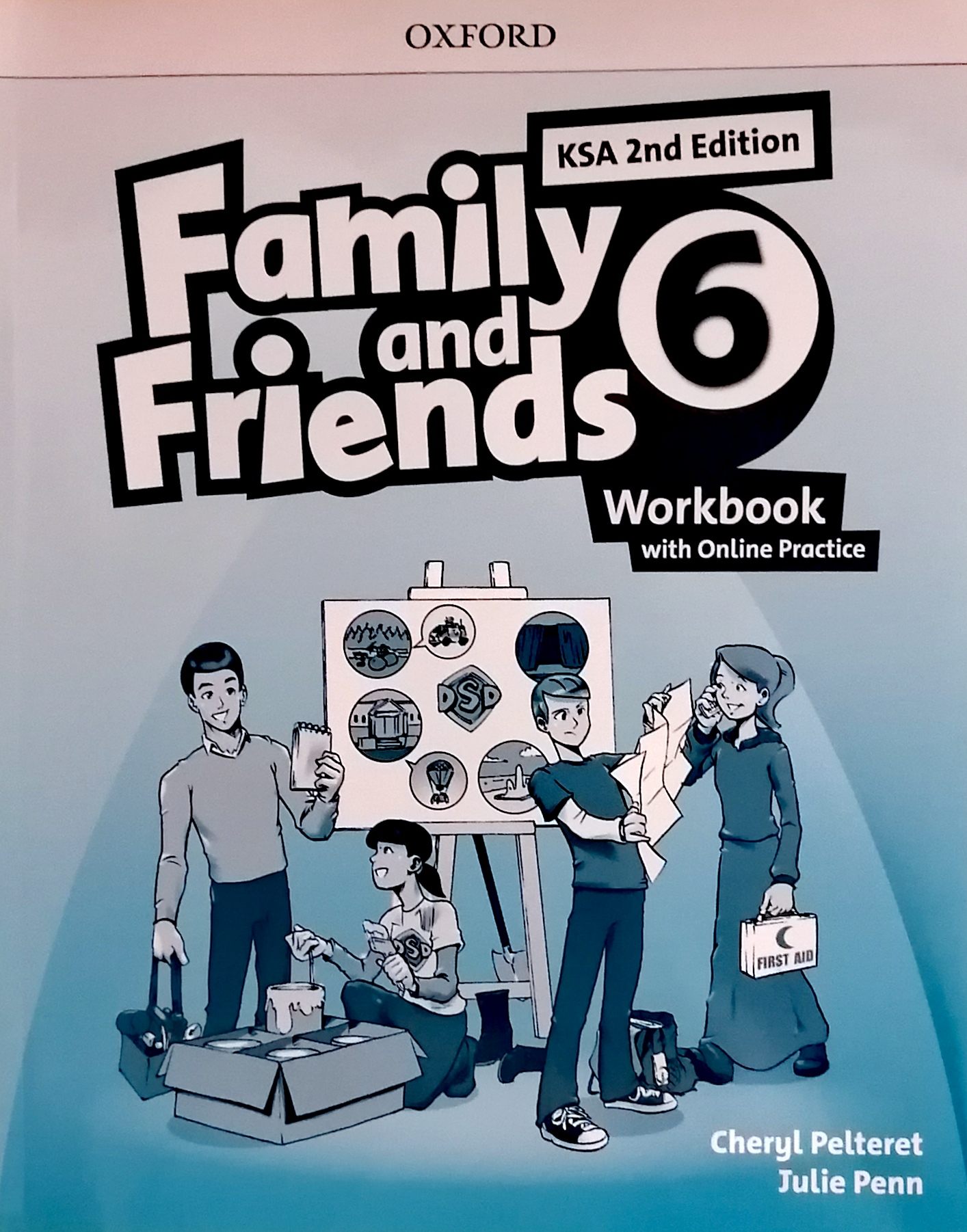 Family and Friends level6 workBook (eBook)