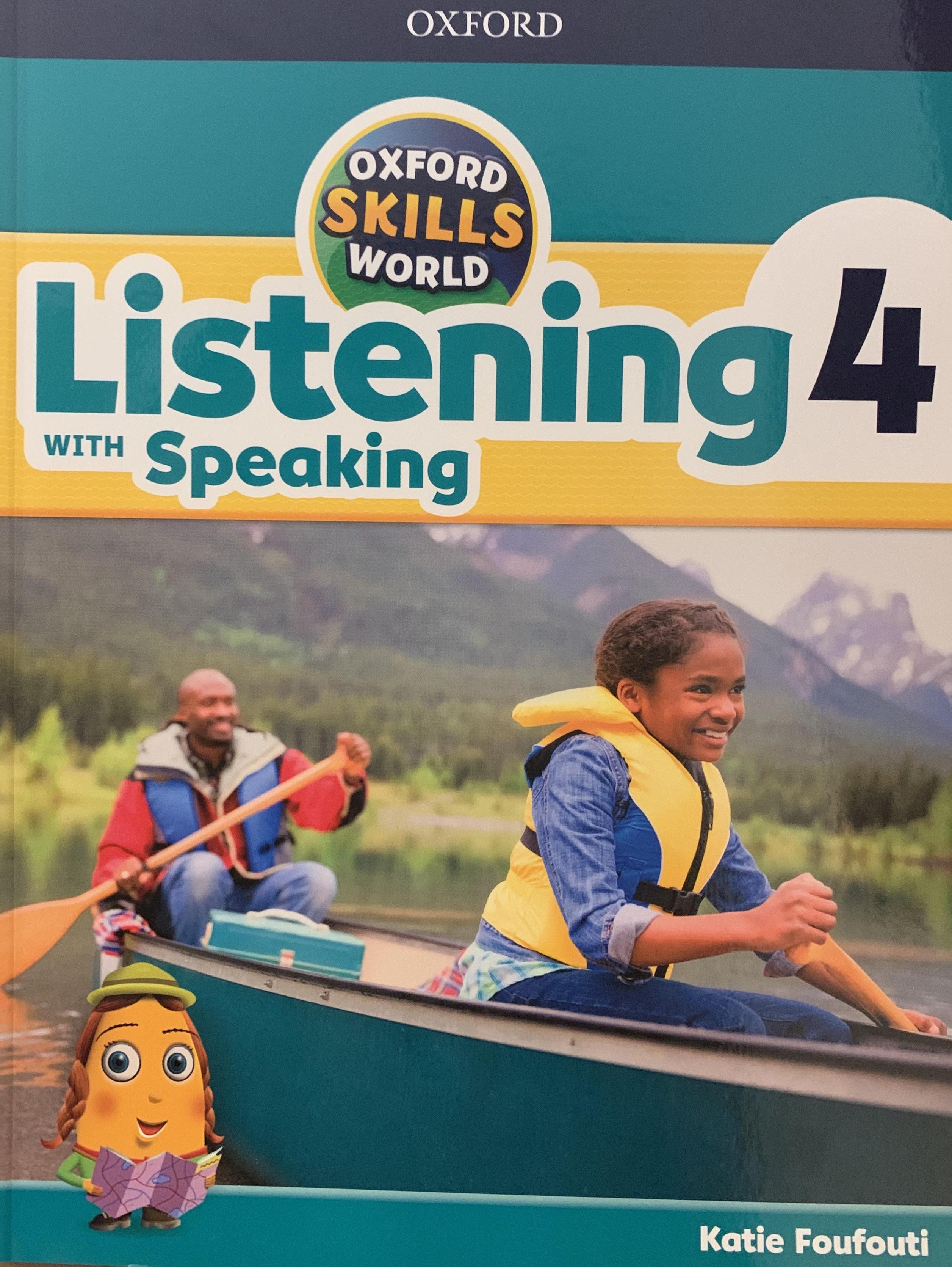 Oxford Skills World Listening Speaking 4