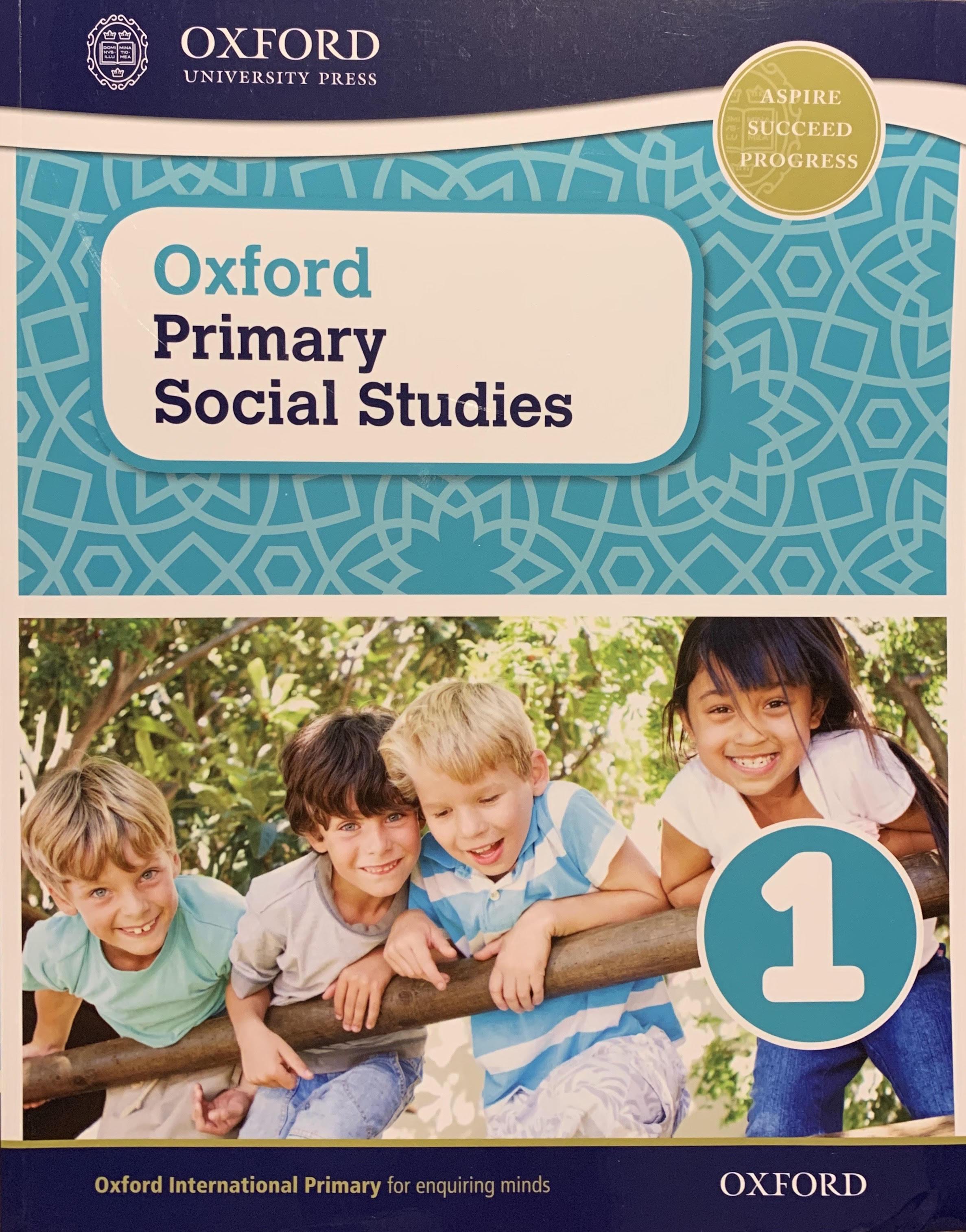 Oxford Primary Social Studies 1