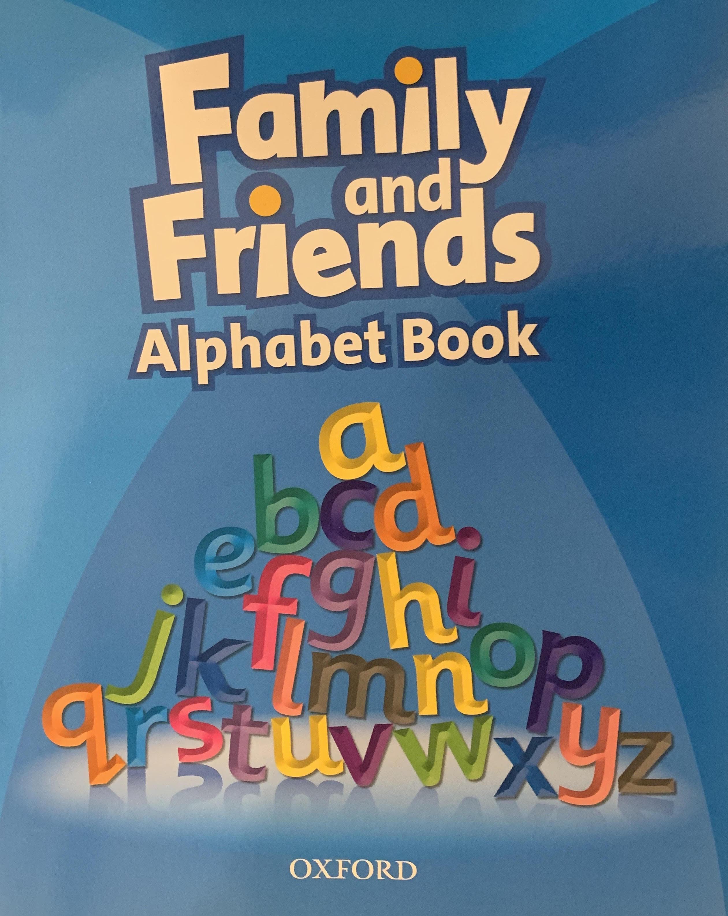 Family Friends Alphabet Book