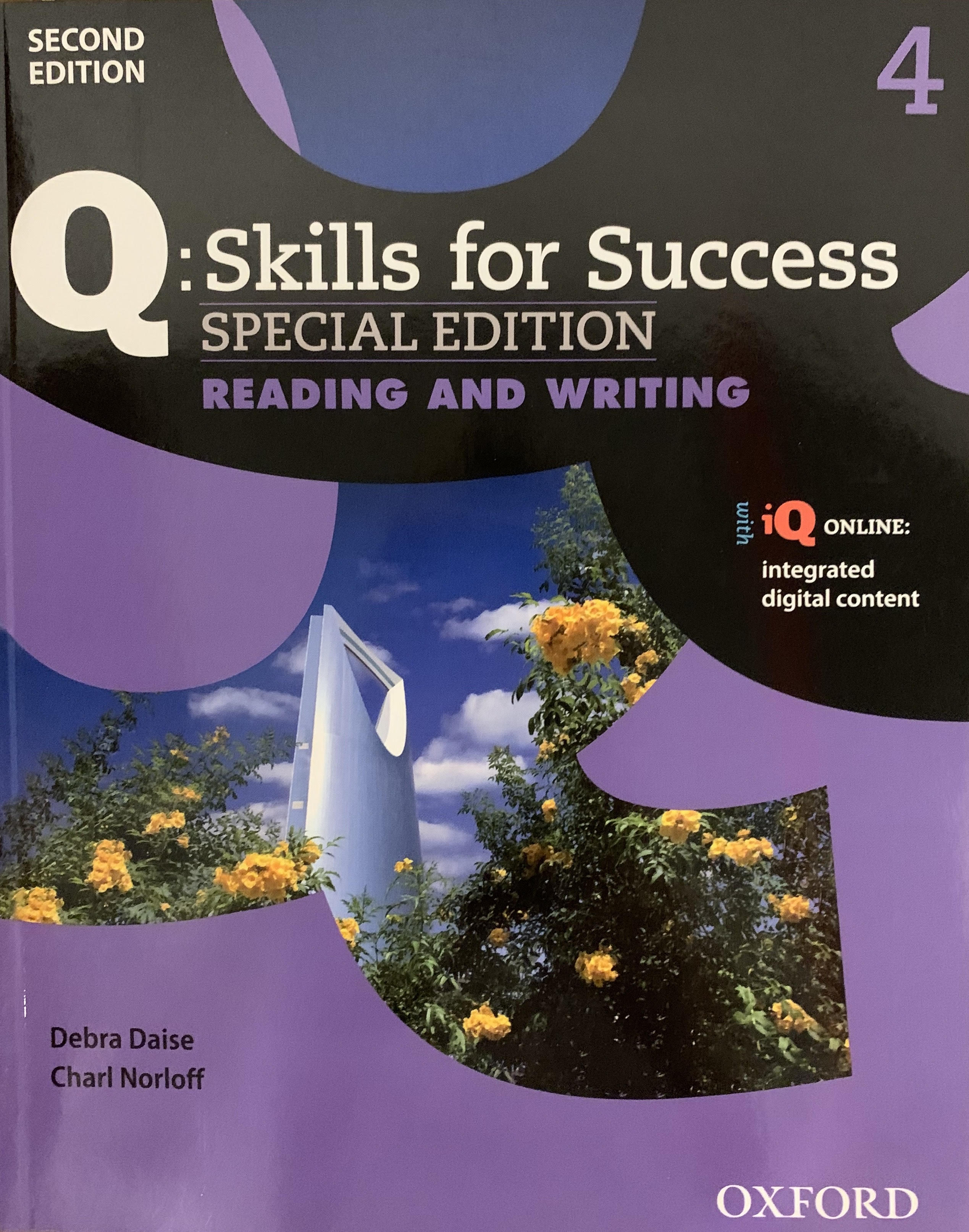 Q Skills For Success Reading and Writing 4