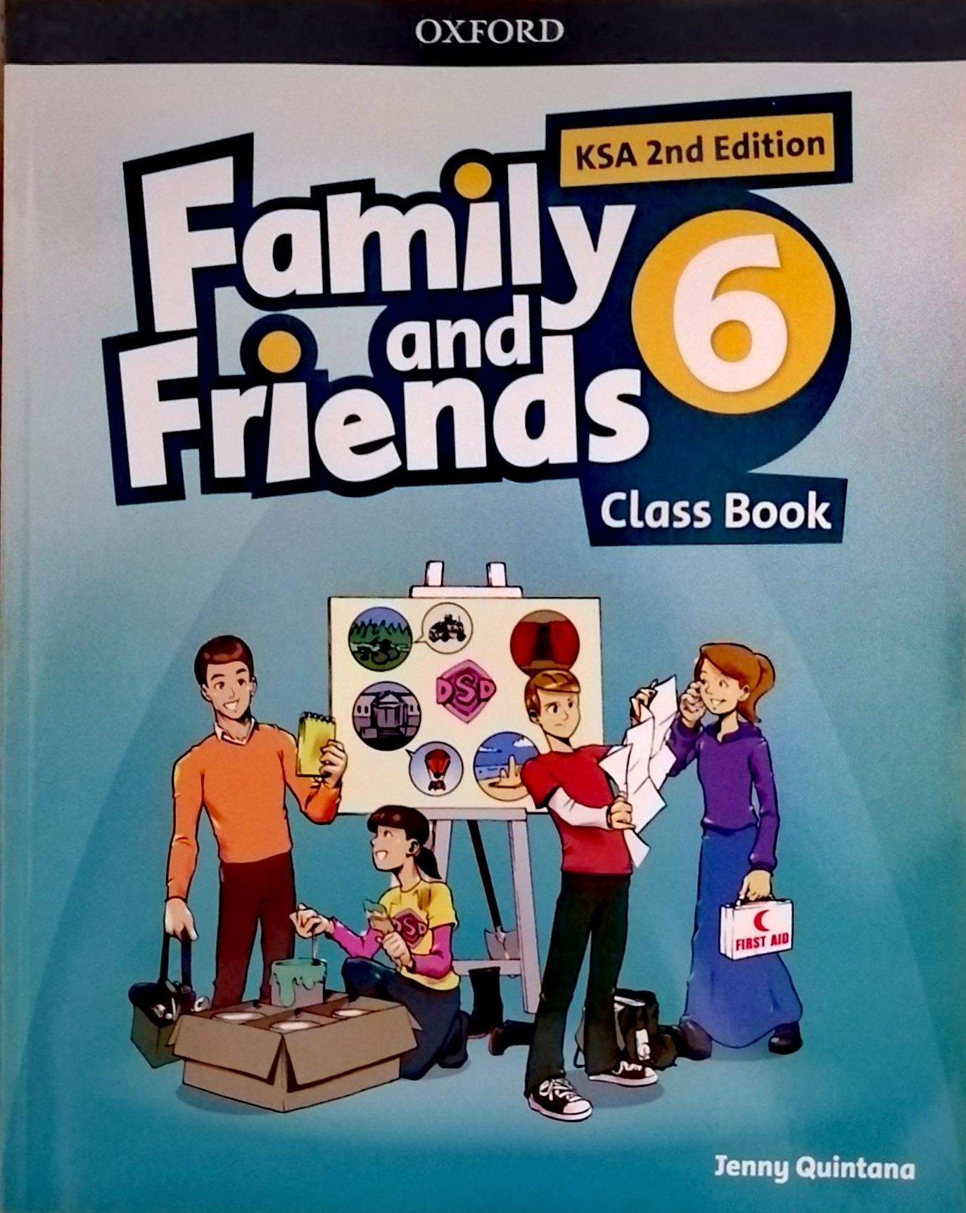Family and Friends level6 Class Book (eBook)