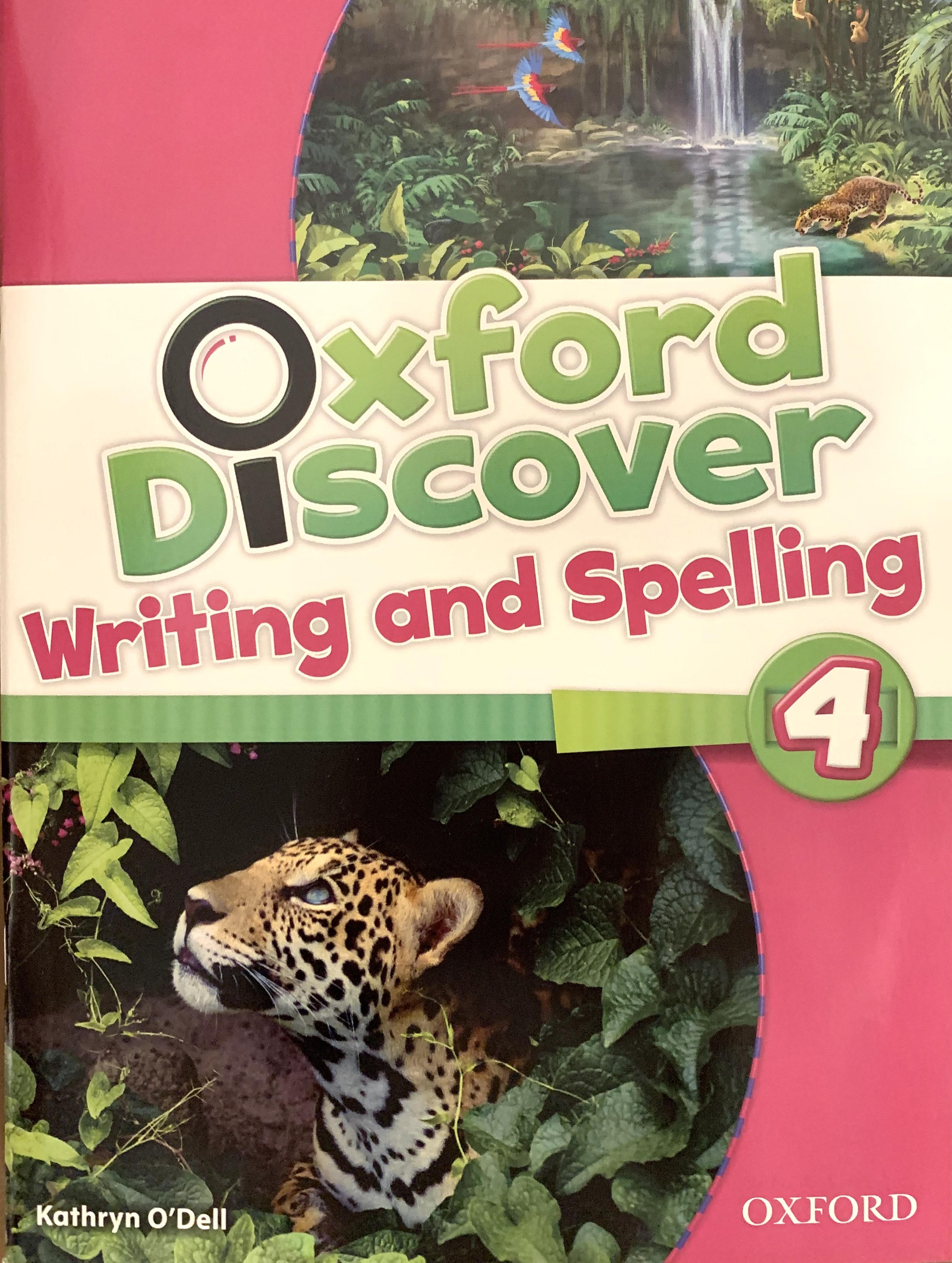Oxford Discover Writing and Spelling 4