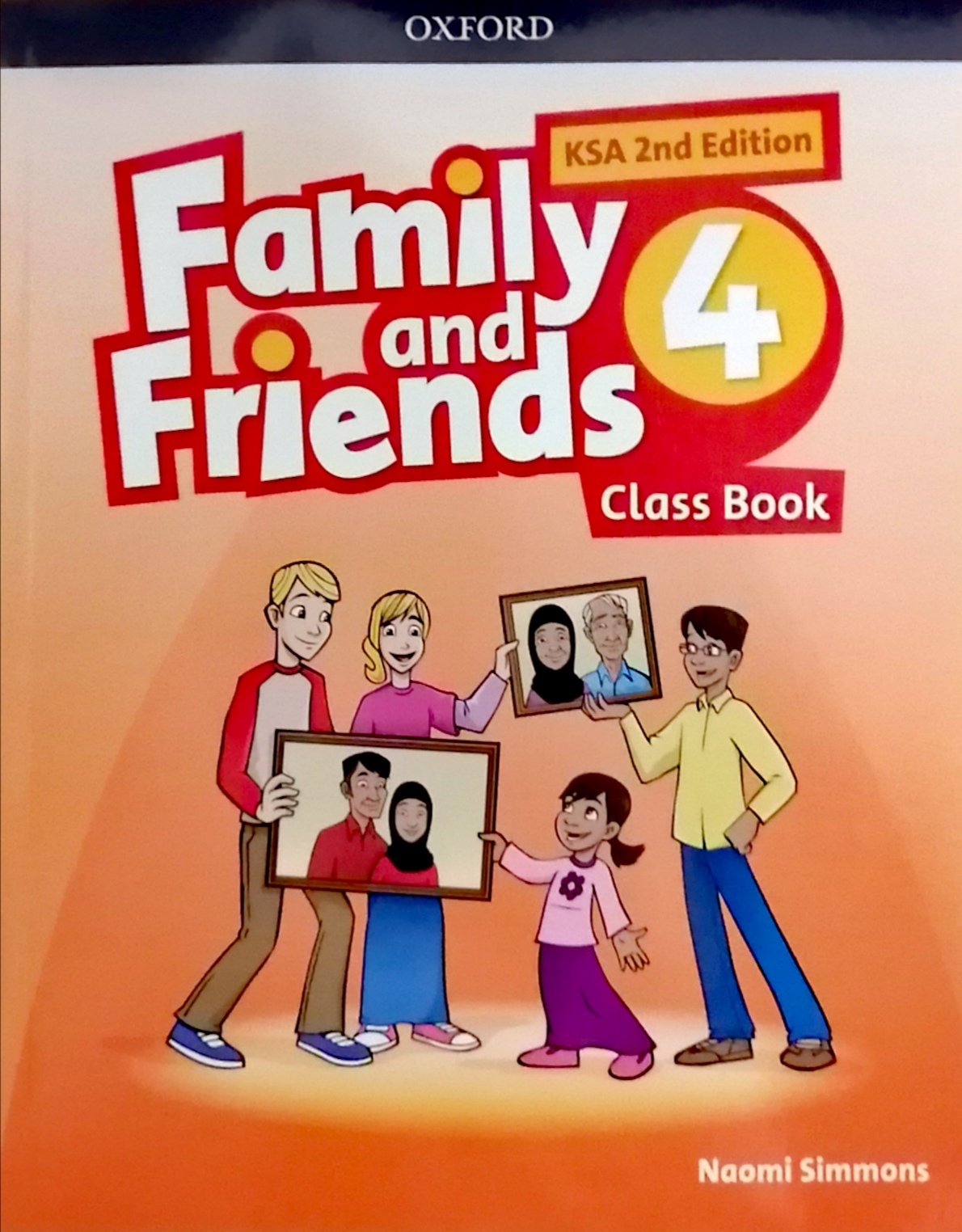 Family and Friends level4 Class Book (eBook)