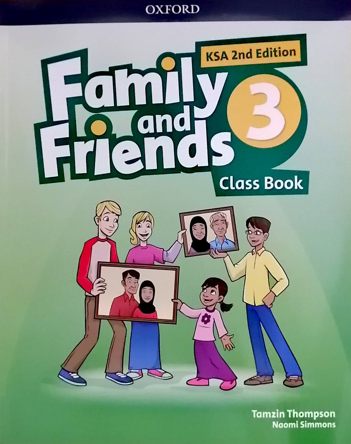 Family and Friends level3 Class Book (eBook)