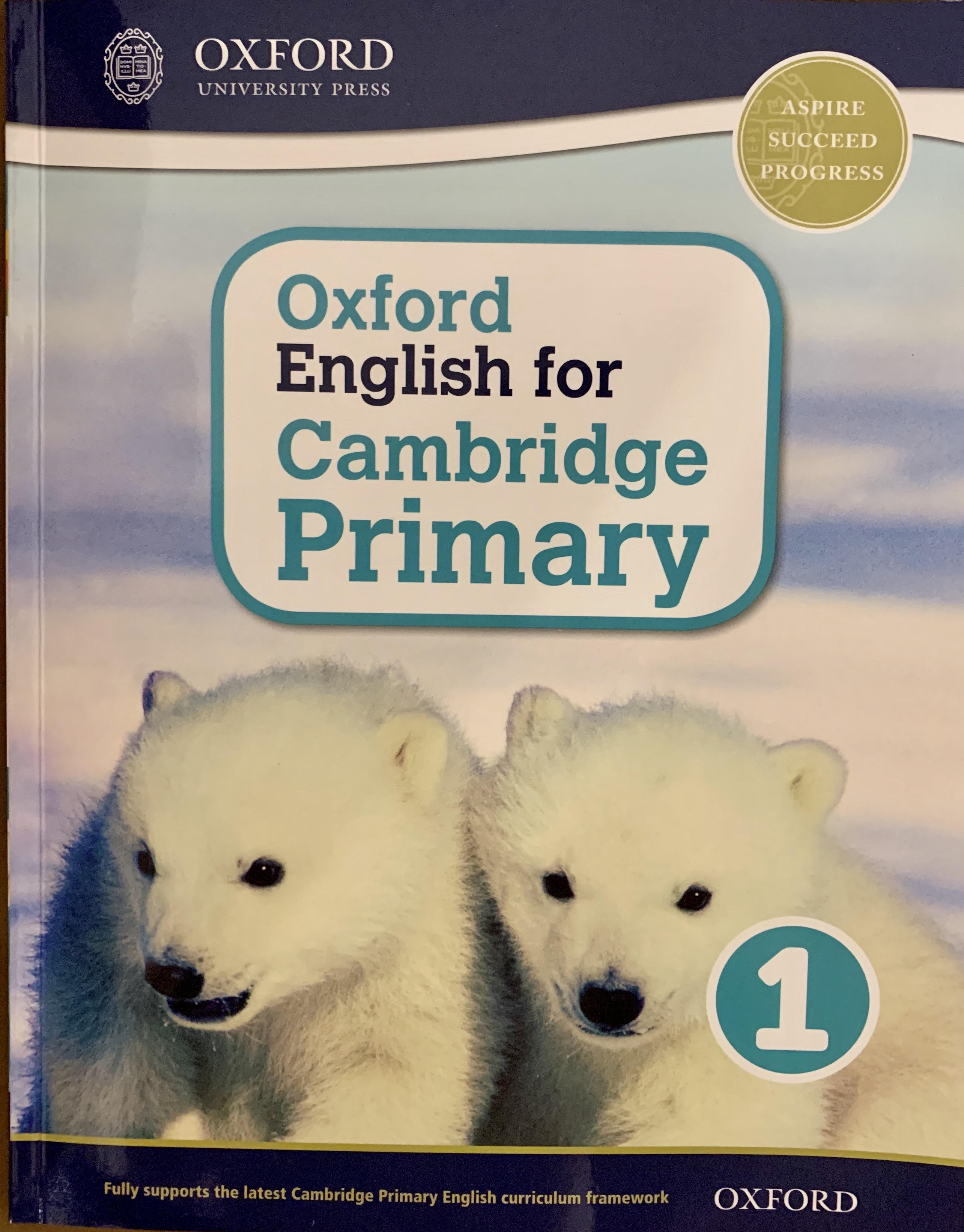 Oxford English for Cambridge Primary 1