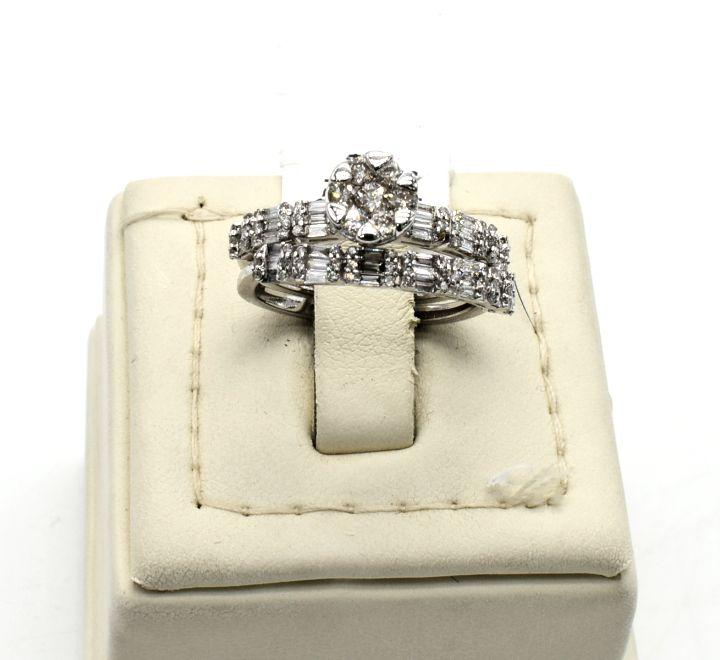 خاتم الماس توينز بفصوص