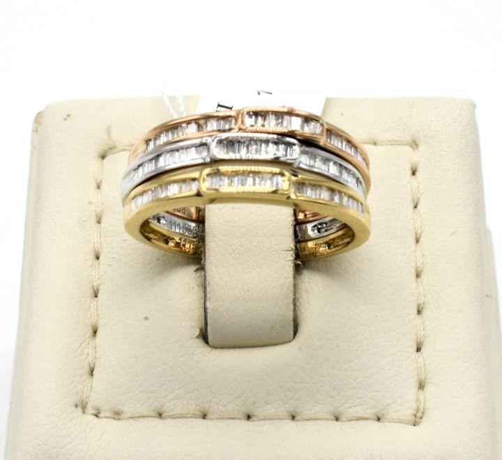 خاتم الماس 3 الوان