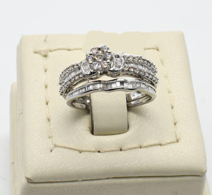خاتم الماس توينز ناعم