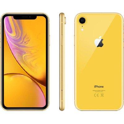 ابل آيفون اكس ار سعة 128 جيجابايت ،أصفر ،الجيل الرابع 4G